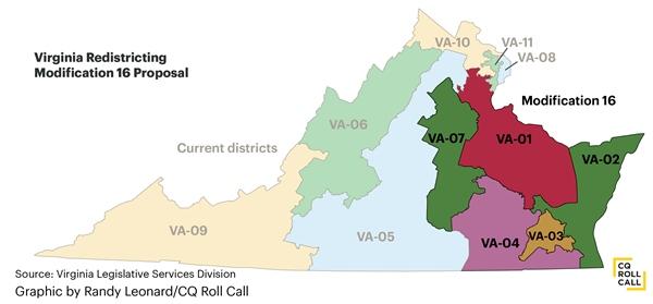 Judges Select New Virginia Congressional Map